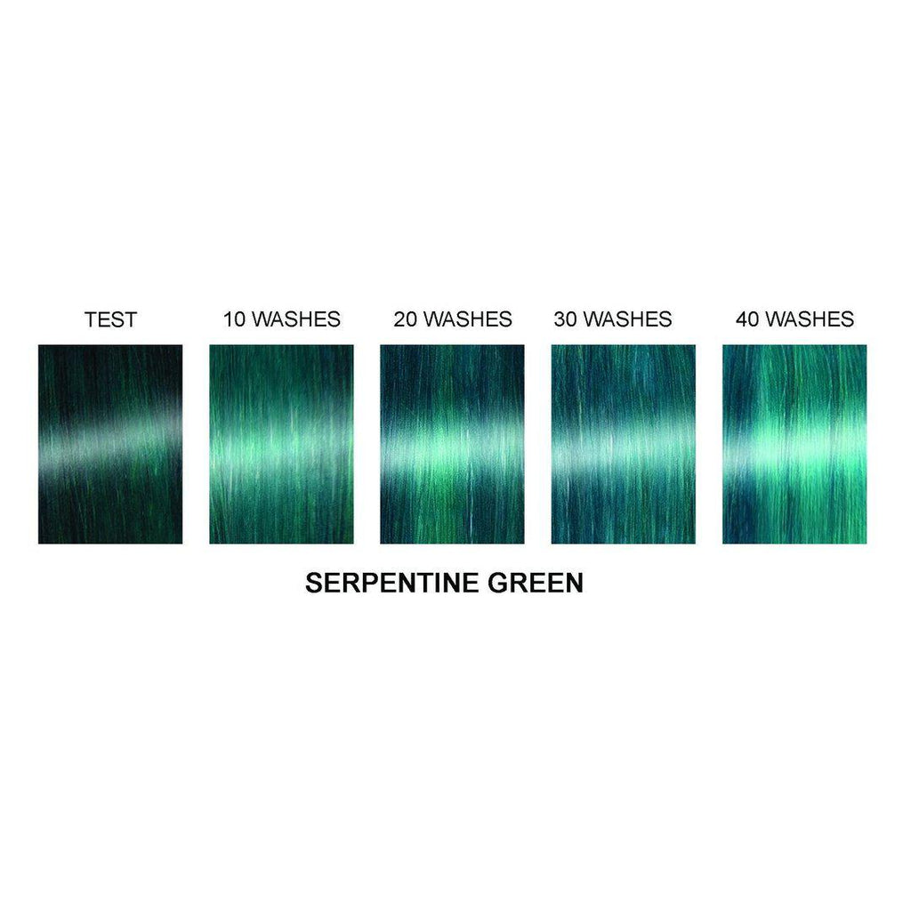 Serpentine® Green - Professional Gel Semi-Permanent Hair Color - Tish & Snooky's Manic Panic