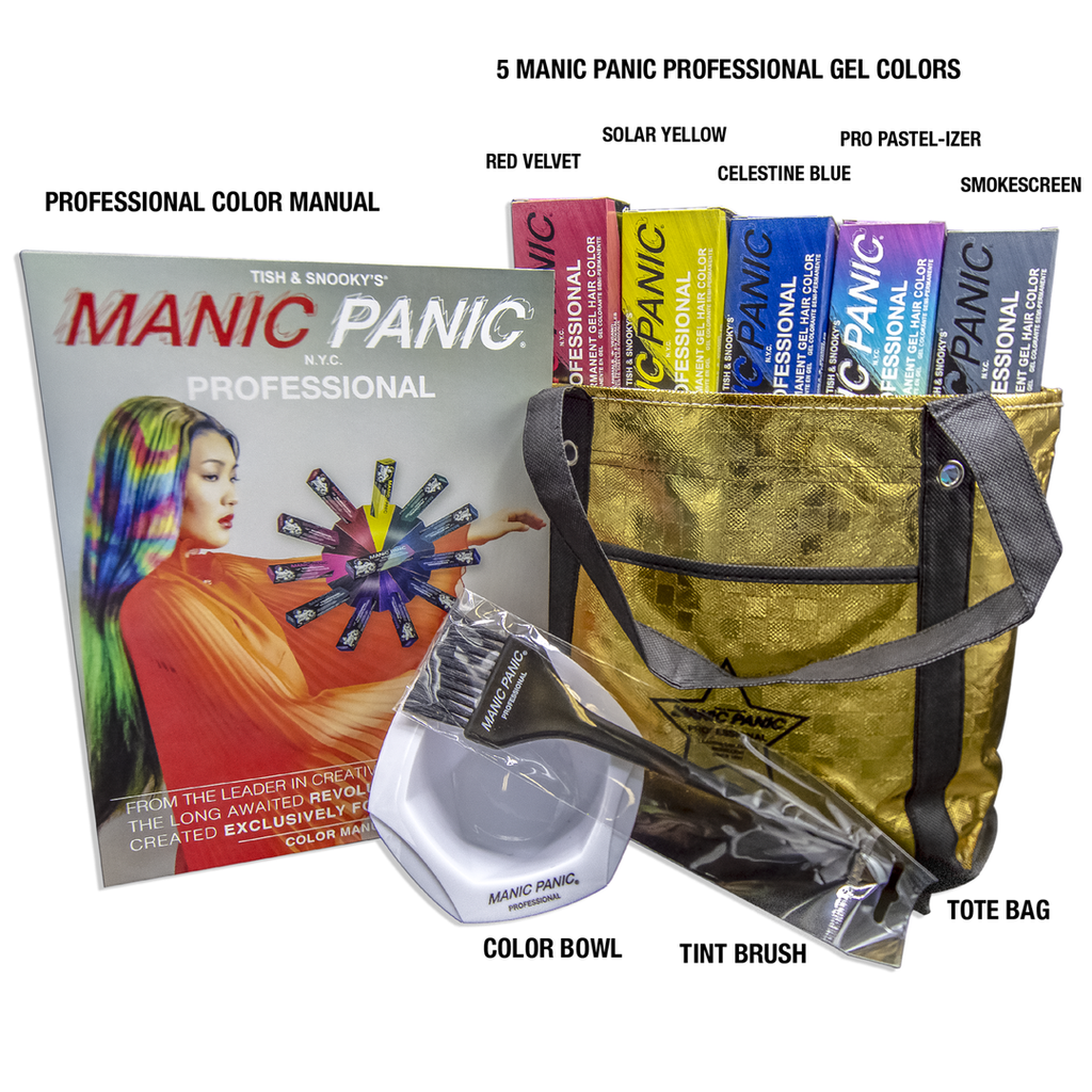 Tish & Snooky's Manic Panic Professional Gel Student Intro Kit Deal