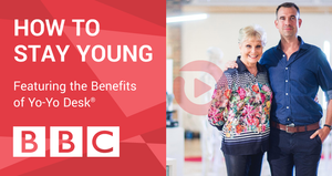 BBC TV features Yo-Yo Desk®