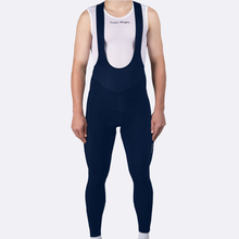 Load image into Gallery viewer, Mens Pro Thermal Long Bib - Navy Reflective
