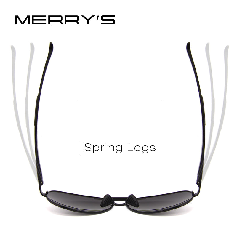 98c54e85f8fc ... MERRY S Men Pilot Sunglasses HD Polarized Glasses Brand Polarized  Sunglasses S 8228 - Benovelent ...