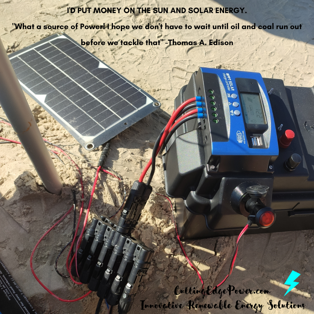 Cutting Edge Power Solar Generator Facts