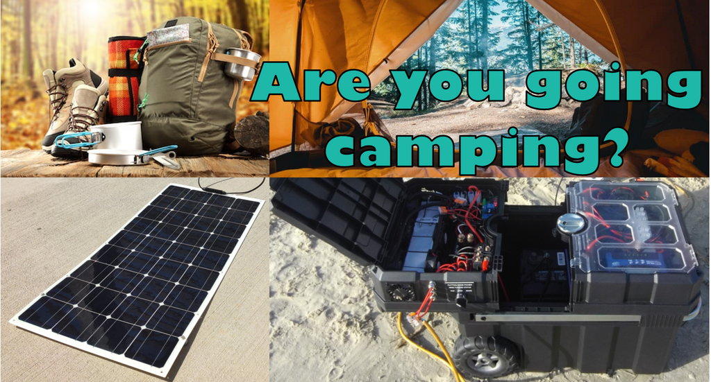 What do we recommend for camping?