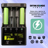 Cutting Edge Power Plug and Play 12V 1200Wh (100Ah) High Performance Wind and Solar Lithium-ion Battery Pack 3S - Cutting Edge Power