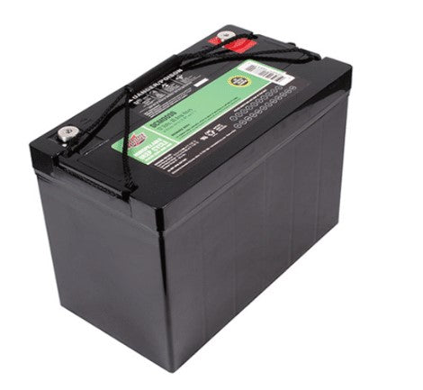 12V 100Ah (1200Wh) Interstate AGM (VRLA) Deep Cycle Battery - Cutting Edge Power