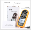 Digital & Portable Anemometer GM816 - Cutting Edge Power