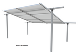 EZArray Modular Solar Panel Array Bracket System, any Panel Size, Ground Mount, Ground Pipe / Pole Mount - Cutting Edge Power