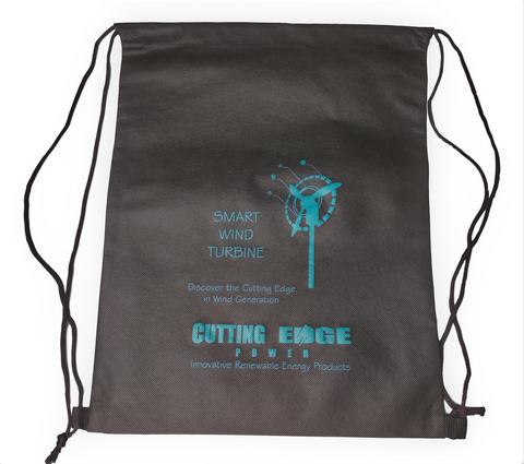 Cutting Edge Power Promotional Drawstring Bag
