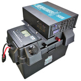 1500W Pure Sine Solar Generator, Portable Solar Battery Box w Inverter, USB, 12V Inputs/Outputs - Cutting Edge Power