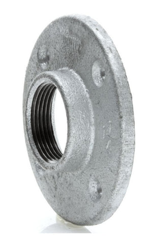 "Economy Wind Turbine Flange to 1-1/4"" Pipe Adapter, No Welding, Steel - Cutting Edge Power"