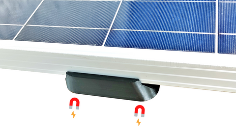 Magnetic Solar Panel Mount Bracket, 700 lbs (per set), for sheds, roofs, boats, cars, trucks, trailers - Cutting Edge Power