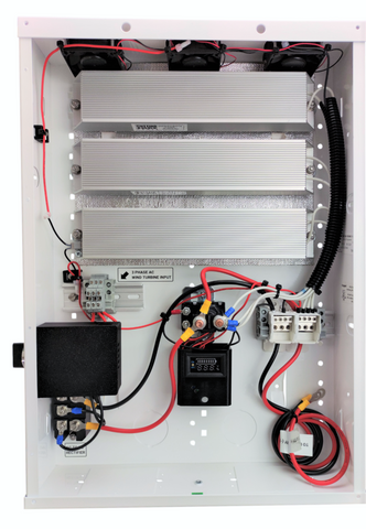 900W Wind Turbine Control Panel with Charge Controller, Dump/Divert Load, Brake, Plug and Play - Cutting Edge Power