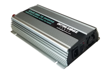1000W Solar Pure Sine Wave Grid Tie Micro Inverter, 22-50V Input 90-140VAC Out - Cutting Edge Power