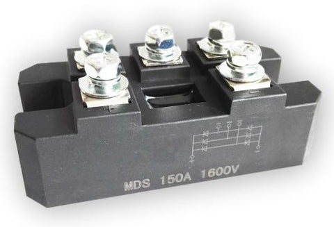 3-Phase Diode Bridge Rectifier 150A Amp 1600V - Cutting Edge Power