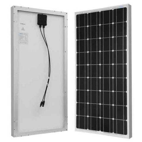 100 WATT 12 VOLT MONOCRYSTALLINE SOLAR PANEL - Cutting Edge Power