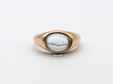 Load image into Gallery viewer, Aquamarine Signet Ring