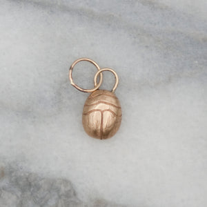 Baby Scarab Charm