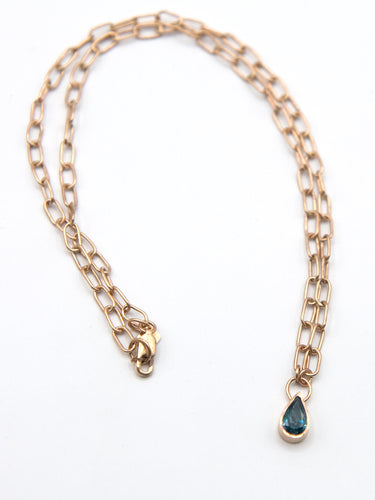 Blue Diamond Roma Necklace