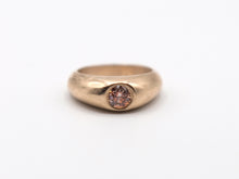 Load image into Gallery viewer, Orange Diamond Signet Ring