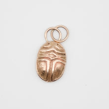 Load image into Gallery viewer, Textured Scarab Charm