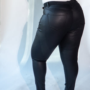 Angela Faux Leather Pants