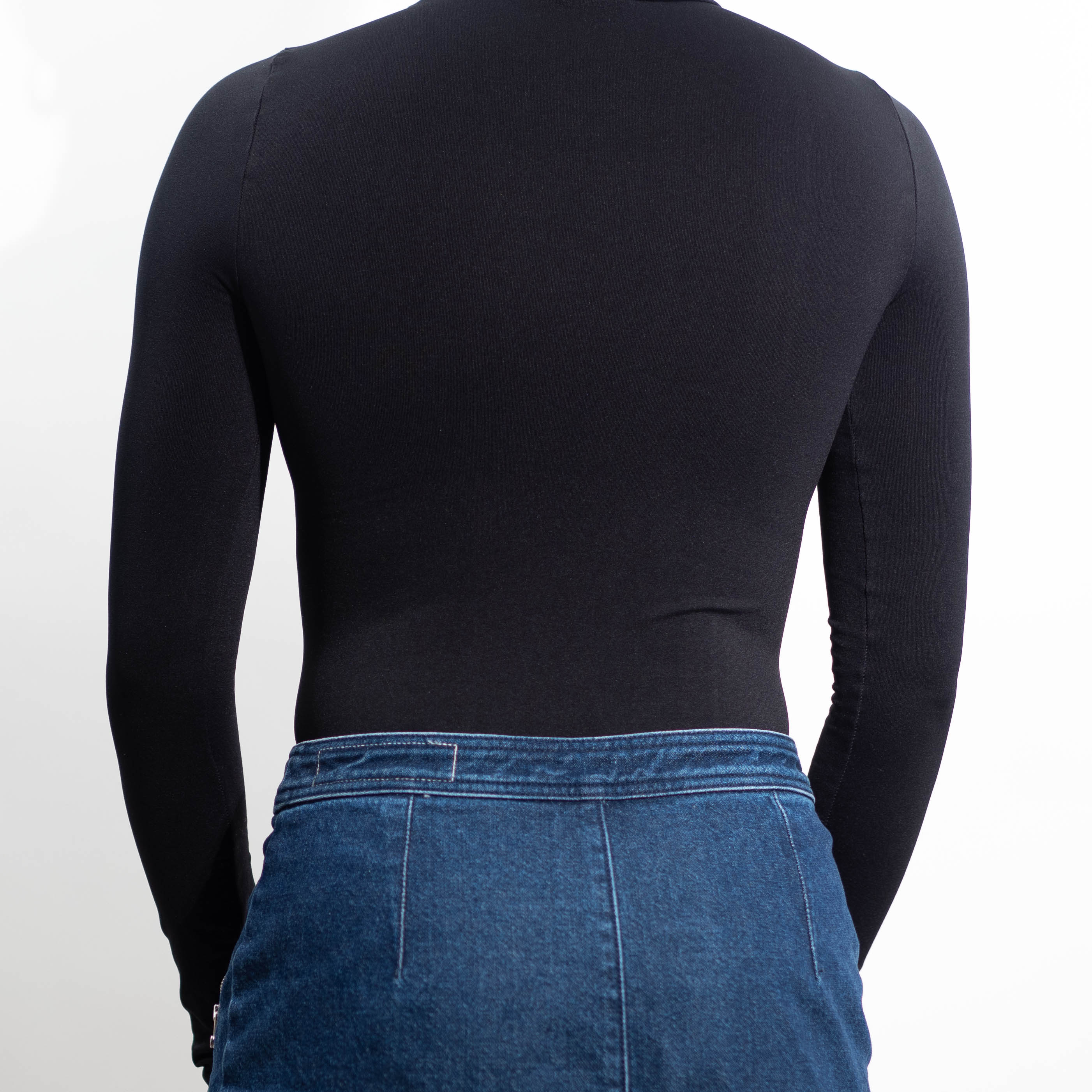 Colt Turtleneck Top Back