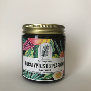 Eucalyptus and Spearmint Soy Candle