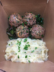 Beef and Vegetable Meatballs