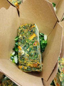 Broccoli & Carrot Frittata