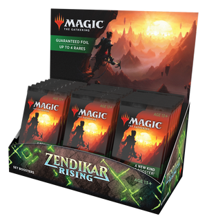 MTG: Zendikar Rising - Set Booster Display
