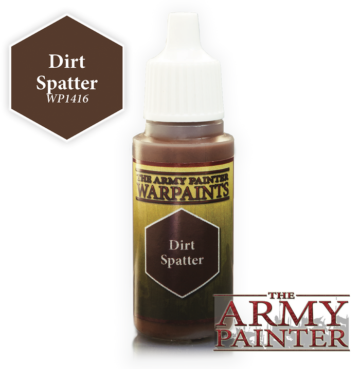 Warpaints Regular: Dirt Spatter