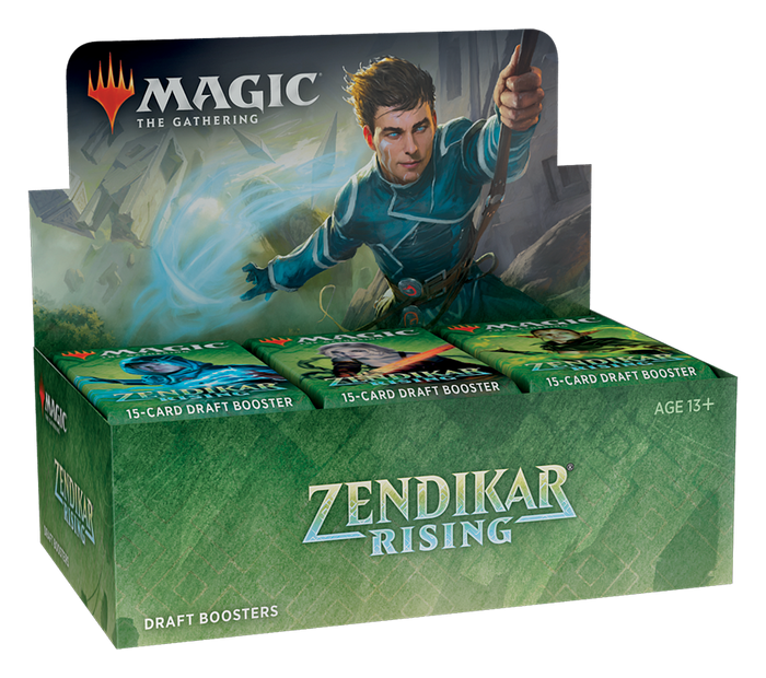 MTG: Zendikar Rising - Draft Booster Display