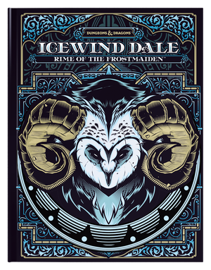 D&D Icewind Dale: Rime of the Frostmaiden [Alt-Cover]
