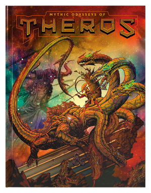 Pre-Order: D&D: Mythic Odysses of Theros Alt Cover
