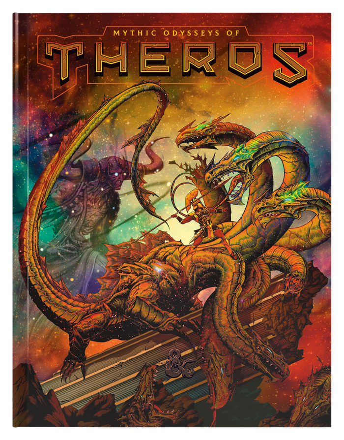 D&D: Mythic Odysses of Theros Alt Cover