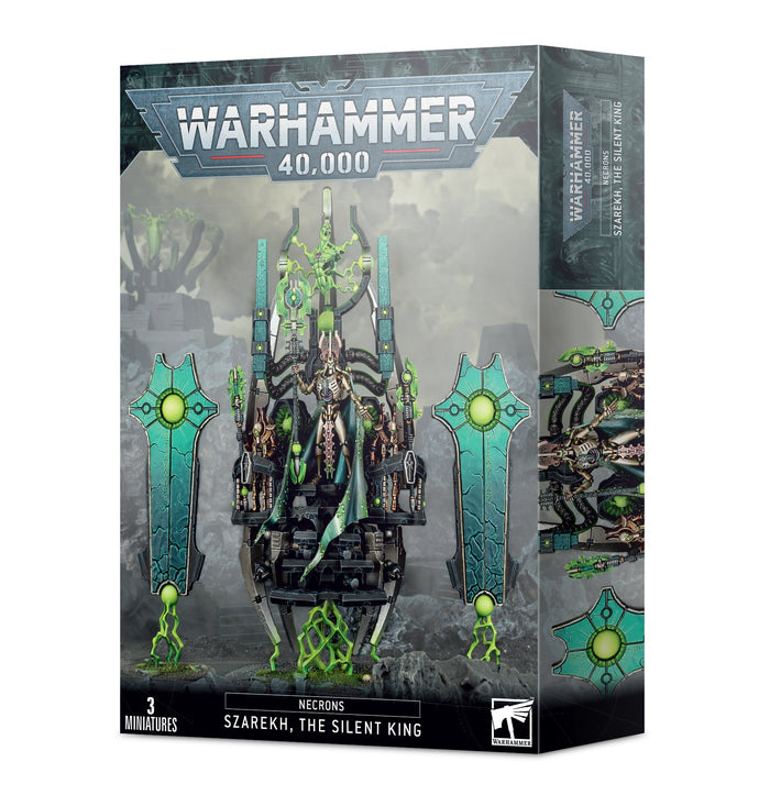 40k: Necron - Szarekh, The Silent King