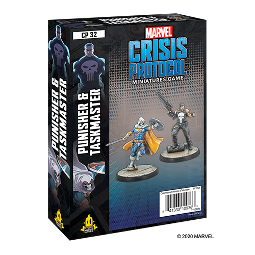 Marvel: Crisis Protocol - Punisher & Taskmaster