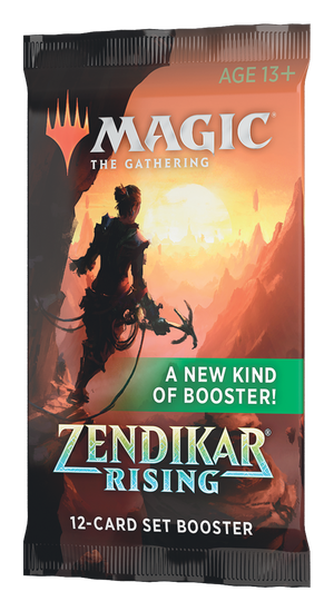 MTG: Zendikar Rising - Set Booster Pack