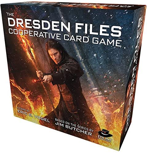 Dresden Files: Cooperative Card Game