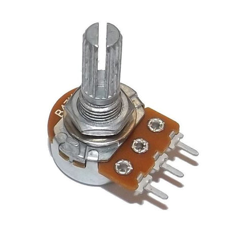 Potentiometers, Rheostats, Knobs & Trimmers