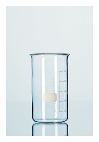 Package of 10 High Form Beakers Without Spout