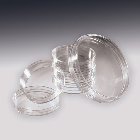 60 × 15 mm Polystyrene Stackable Petri Dish Set