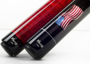 Pool Cue Butts Flag