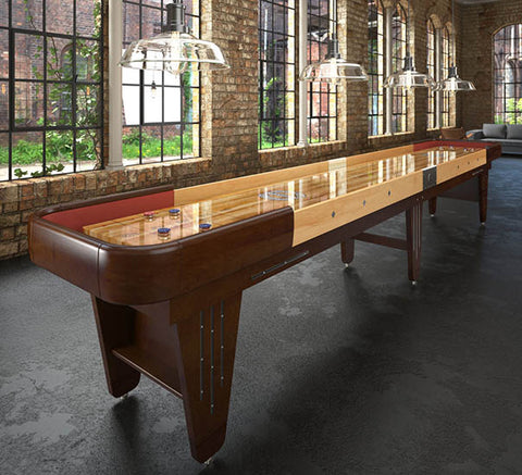 Charleston Factory: Displaying the Vintage Charleston Champion Shuffleboard