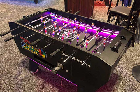 Action Soccer Table with the LED package