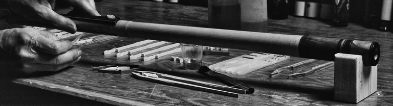 Old Fashion Pool Cue Manufacture