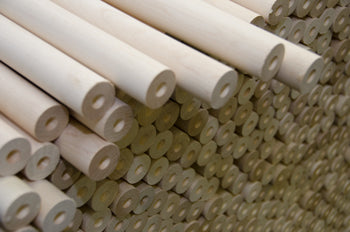 Pool Cue Wood Unfinished