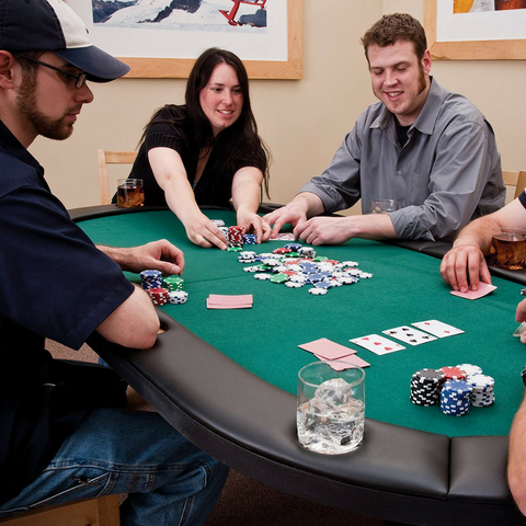 Image of Fat Cat Folding Portable Texas Hold'Em Table