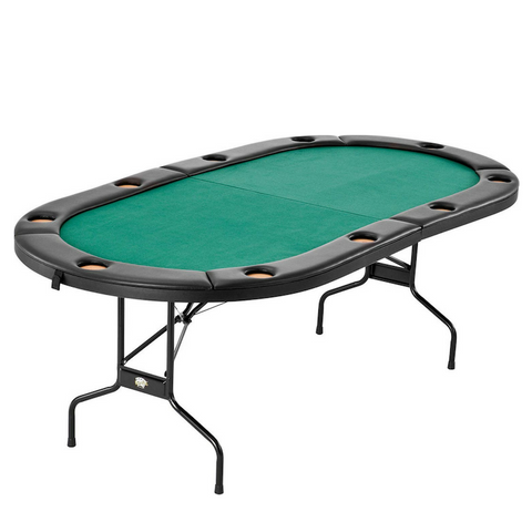Fat Cat Folding Portable Texas Hold'Em Table