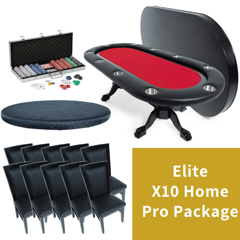 Image of BBO Poker Table X10 Home Pro Package